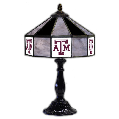 Texas A&M Aggies 21 in Glass Table Lamp | IPI359-3021