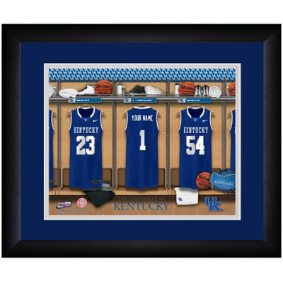 Kentucky Wildcats Campus Personalized Locker Room Print | Get Letter Art | KENTLOCKER