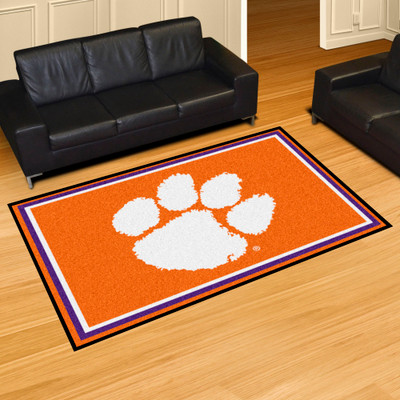 Clemson Tigers Area Rug 5' x 8' | Fanmats | 6837
