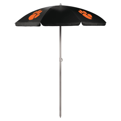 Clemson Tigers Beach Umbrella | Picnic Time | 822-00-179-104-0