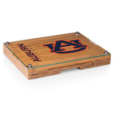 Auburn Tigers Concerto Bamboo Cutting Board | Picnic Time | 919-00-505-044-0
