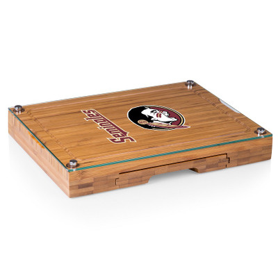 FSU Seminoles Concerto Bamboo Cutting Board | Picnic Time | 854-00-505-173-0