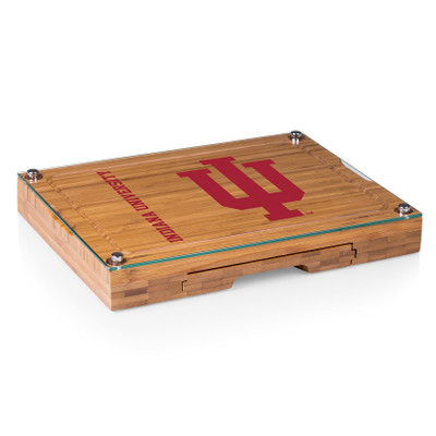 Indiana Hoosiers Concerto Bamboo Cutting Board | Picnic Time | 919-00-505-674-0