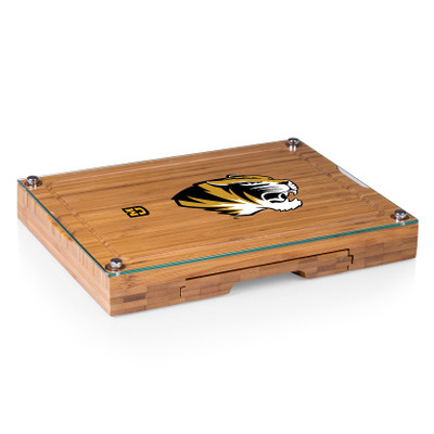 Missouri Tigers Concerto Bamboo Cutting Board | Picnic Time | 919-00-505-394-0
