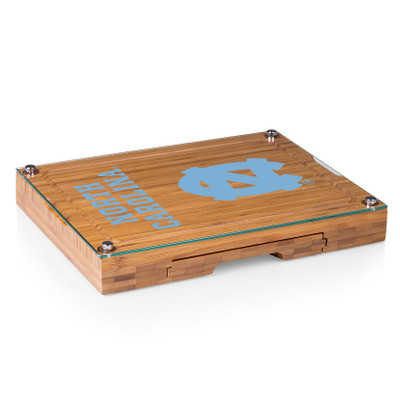 UNC Tar Heels Concerto Bamboo Cutting Board | Picnic Time | 919-00-505-414-0