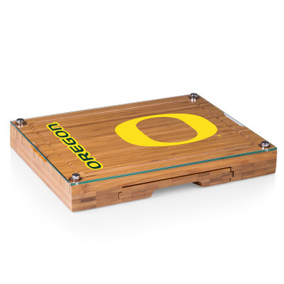 Oregon Ducks Concerto Bamboo Cutting Board | Picnic Time | 919-00-505-474-0