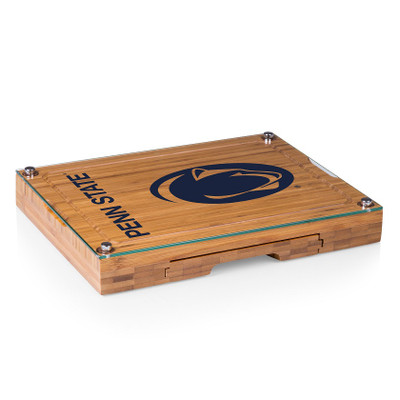 Penn State Nittany Lions Concerto Bamboo Cutting Board | Picnic Time | 919-00-505-494-0
