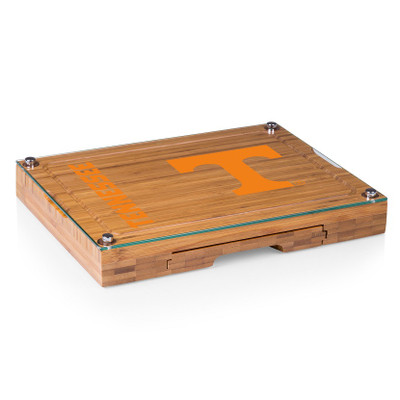 Tennessee Volunteers Concerto Bamboo Cutting Board | Picnic Time | 919-00-505-554-0