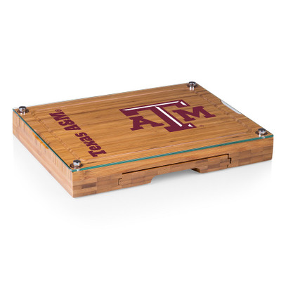 Texas A&M Aggies Concerto Bamboo Cutting Board | Picnic Time | 919-00-505-564-0