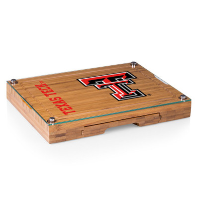 Texas Tech Red Raiders Concerto Bamboo Cutting Board | Picnic Time | 919-00-505-574-0