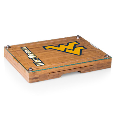 West Virginia Concerto Bamboo Cutting Board | Picnic Time | 919-00-505-834-0