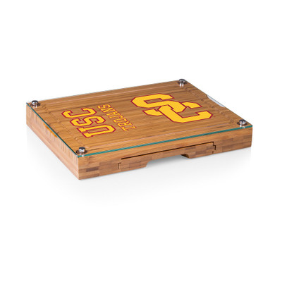 USC Trojans Concerto Bamboo Cutting Board | Picnic Time | 919-00-505-094-0