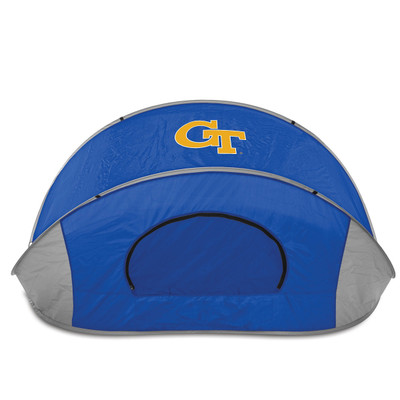 Georgia Tech Yellow Jackets Manta Sun Shelter | Picnic Time | 113-00-139-194-0