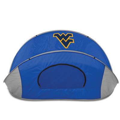 West Virginia Mountaineers Manta Sun Shelter | Picnic Time | 113-00-139-834-0