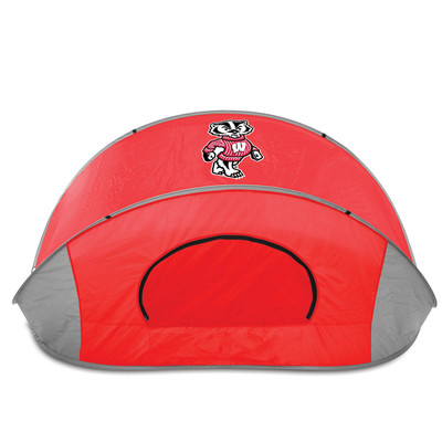 Wisconsin Badgers Manta Sun Shelter | Picnic Time | 113-00-100-644-0