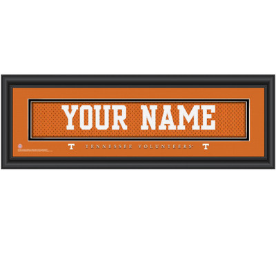 Tennessee Volunteers Personalized Jersey Stitch Print | Get Letter Art | TENNJERS
