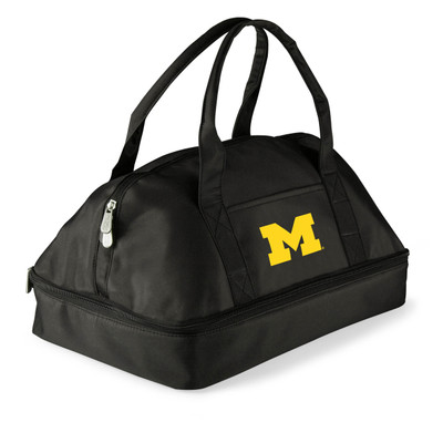 Michigan Wolverines Potluck Casserole Tote | Picnic Time | 650-00-175-344-0