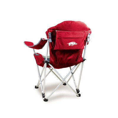 Arkansas Razorbacks Reclining Camp Chair | Picnic Time | 803-00-100-034-0