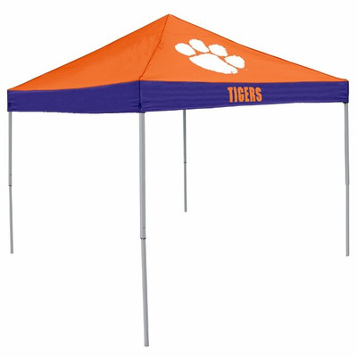 Clemson Tigers Canopy Tailgate Tent | Logo Chair | 123-39E