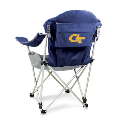 Georgia Tech Yellow Jackets Reclining Camp Chair | Picnic Time | 803-00-138-194-0