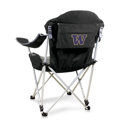 Washington Huskies Reclining Camp Chair | Picnic Time | 803-00-175-624-0