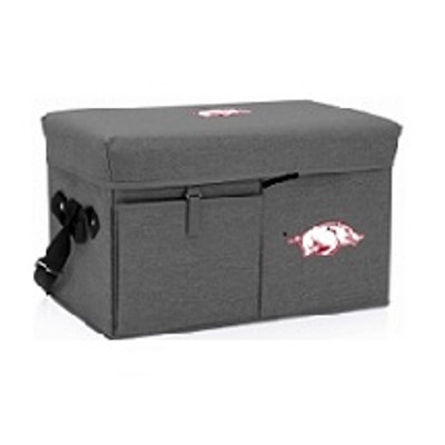 Arkansas Razorbacks Ottoman Cooler | Picnic Time | PCT594-00-105-034-0