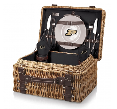 Purdue Boilermakers Champion Picnic Basket | Picnic Time | 208-40-179-514-0