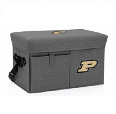 Purdue Boilermakers Ottoman Cooler | Picnic Time | PCT594-00-105-514-0