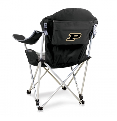 Purdue Boilermakers Reclining Camp Chair | Picnic Time | 803-00-175-514-0