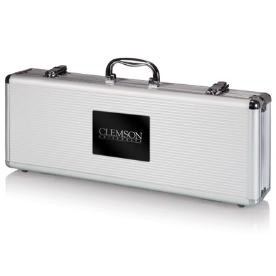 Clemson Tigers Grill Set | Picnic Time | 681-00-179-103-0