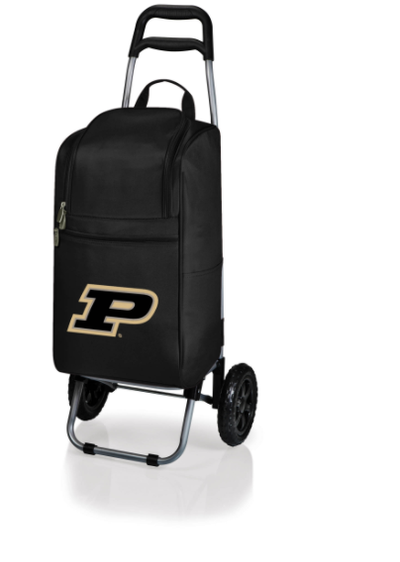 Purdue Boilermakers Rolling Cart Cooler | Picnic Time | 545-00-175-514-0