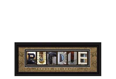 Purdue Boilermakers Letter Art | Get Letter Art | CLAL1B22PURD