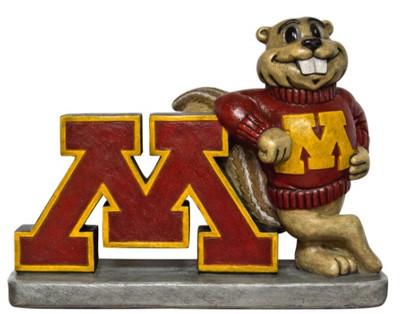 Minnesota Golden Gophers Mascot Garden Statue | Stonecasters | 2998HT