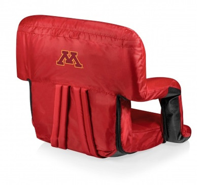 Minnesota Golden Gophers Red Ventura Portable Seat | Picnic Time | 618-00-100-364-0