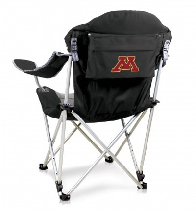 Minnesota Golden Gophers Reclining Camp Chair | Picnic Time | 803-00-175-364-0