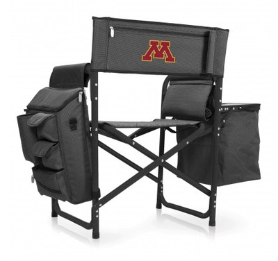 Minnesota Golden Gophers Fusion Tailgating Chair | Picnic Time | 807-00-679-364-0