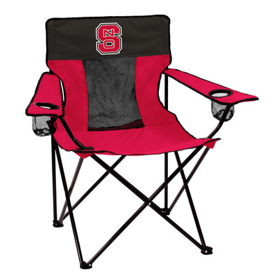 NC State Wolfpack Elite Tailgate Chair   Logo Chair   186-12E