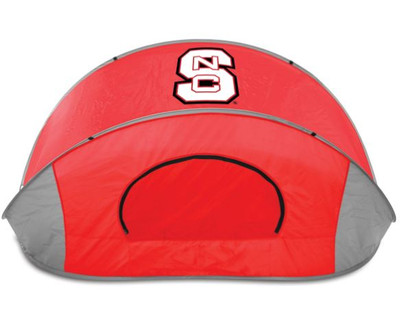 NC State Wolfpack Manta Sun Shelter - Red | Picnic Time | 113-00-100-424-0