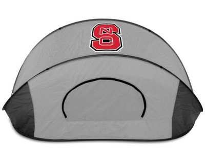 NC State Wolfpack Manta Sun Shelter - Gray | Picnic Time | 113-00-105-424-0