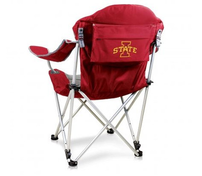 Iowa State Cyclones Reclining Camp Chair - Red | Picnic Time | 803-00-100-234-0