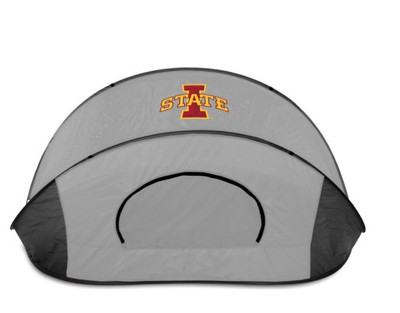 Iowa State Cyclones Manta Sun Shelter - Gray | Picnic Time | 113-00-105-234-0