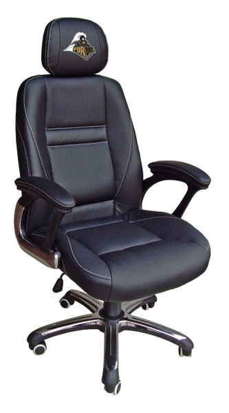 Purdue Boilermakers Leather Office Chair | Wild Sports | 901C-PURD