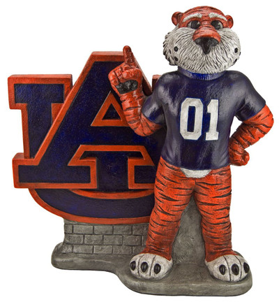 Auburn Tigers Mascot Garden Statue | Stonecasters | 2970HT