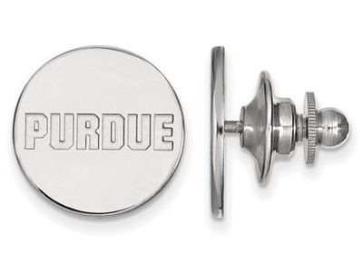 Purdue University Logo Sterling Silver Lapel Pin | Logo Art | SS071PU