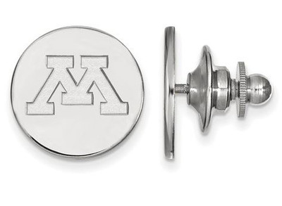 Minnesota Golden Gophers Logo Sterling Silver Lapel Pin | Logo Art | SS009UMN
