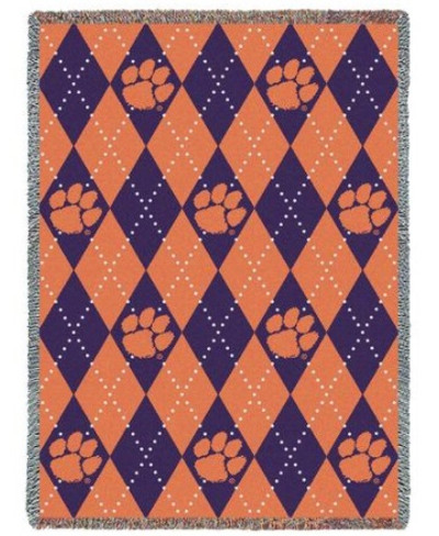Clemson Tigers Paw Stadium Blanket | Pure Country | 967-A