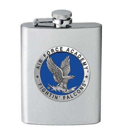 Air Force Academy Flask | Heritage Pewter | FSK10271EB