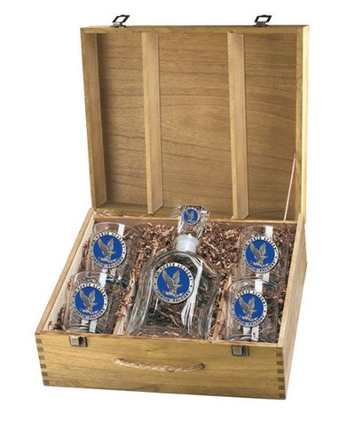 Air Force Academy Decanter Box Set | Heritage Pewter | CPTB10271EB