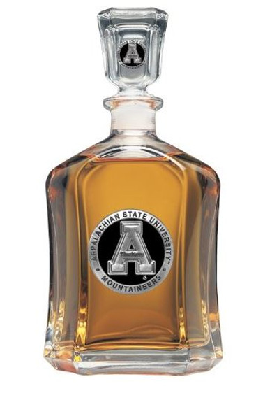 Appalachian State Mountaineers Capitol Decanter | Heritage Pewter | CPT10325EK