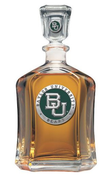 Baylor Bears Capitol Decanter | Heritage Pewter | CPT10316EG